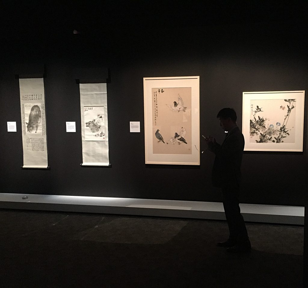 The Historical Expression of Chinese Art exhibition